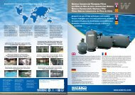 Waterco Commercial Fibreglass Filters Les filtres ... - Waterco Europe