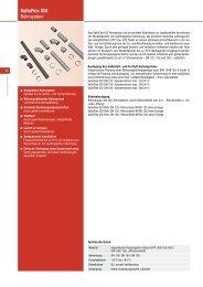 ValloFlex ISO Rohrsystem - Heinemann GmbH