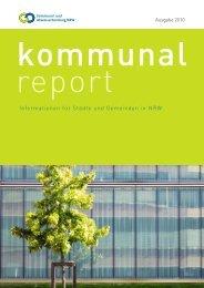 Informationen für Städte und Gemeinden in NRW - Kommunal