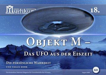 Das UFO aus der Eiszeit Das UFO aus der Eiszeit - Mystikum