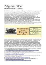 Prägende Bilder – Die Klischees des Dr. Lueger (PDF - Albert ...
