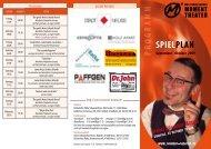 SPIELPLAN - Das einzig wahre Moment Theater