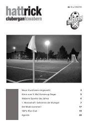 Hattrick Ausgabe 1 - Saison 2008/2009 - FC Wabern - Home