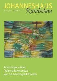 Betrachtungen zu Ostern Treffpunkt ... - Johanneshaus