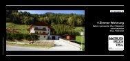 6182-Gries im Sellraintal - Immobilien-Kurzinfo 4 Zimmer Wohnung