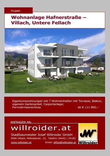 Download Projektbeschreibung - Stadtbaumeister Josef Willroider ...
