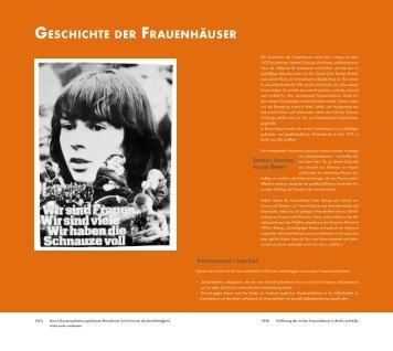 Frauen helfen Frauen - Frauenhäuser Köln