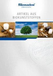 artikel aus biokunststoffen - Semadeni AG