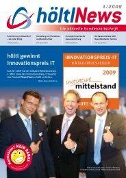 höltl gewinnt Innovationspreis IT - höltl Retail Solutions
