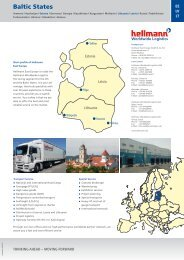 Baltic States - Hellmann Worldwide Logistics