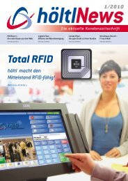 Total RFID - höltl Retail Solutions