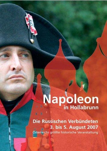 Napoleon in Hollabrunn Die Russischen ... - Werbung & Co