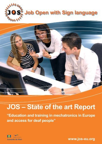 download State of the Art Report - JOS - job open with sign language