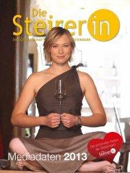 Download Mediadaten 2013 - Die SteirerIN