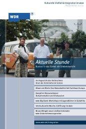 Newsletter Integration 02/10 (PDF-Download: 2,5 - WDR.de