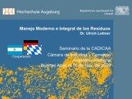 Manejo Moderno e Integral de los Residuos - Abfallratgeber Bayern