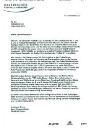 Die Deutsche Fußball-Liga beschenkt die Totopokal-Teilnehmer