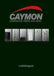 Catalogue PDF - Caymon