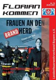 Ausgabe Nummer 70 - Landesfeuerwehrverband Bayern