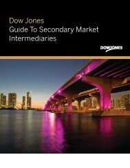 [PDF] Dow Jones Guide To Secondary Market Intermediaries