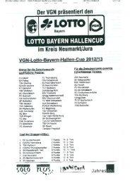 VGN-Lotto-Bayern-Hallen-Cup Neumarkt/Jura 2012