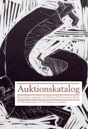 Auktionskatalog - KUNST Magazin