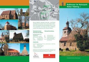 Feldsteinkirchen-Tour - Naturpark Hoher Fläming