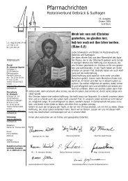 Ostern 2009 - Pastoralverbund Delbrück Sudhagen