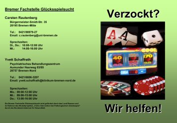 Kontakt: Bremen Nord Yvett Schaffrath Bremer Fachstelle ...