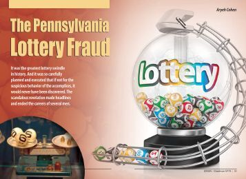 The Pennsylvania Lottery Fraud - ZMAN Magazine