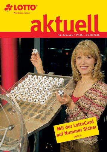 Mit der LottoCard auf Nummer Sicher - Toto-Lotto Niedersachsen ...