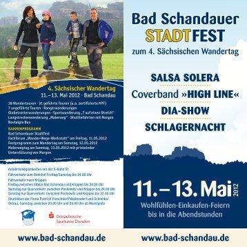 4. Sächsischer Wandertag - Bad Schandau