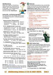 Dokument-Download Abfallinfo 2013 allgemeine ... - Stadt Dillingen