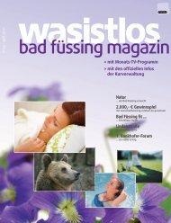 wasistlos badfüssing-magazin - Ausgabe April 2010 - Badfuessing ...