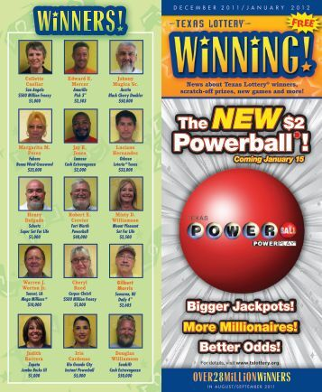 Powerball - Texas Lottery