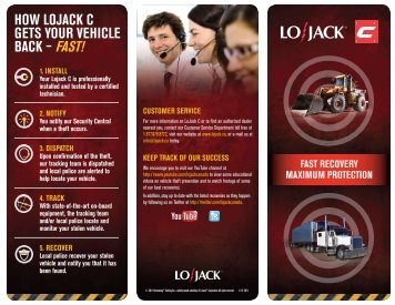 hoW lojaCK C Gets Your vehiCle BaCK – fast! - Boomerang