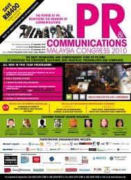 coMMunicationS - Institute of Marketing Malaysia