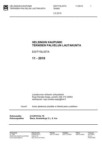 helsingin kaupunki kesätyö 2016 Alajarvi
