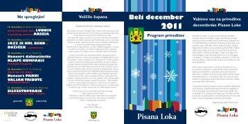 Beli december 2011 - Sokolski dom