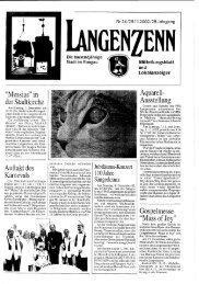 laue - Langenzenn