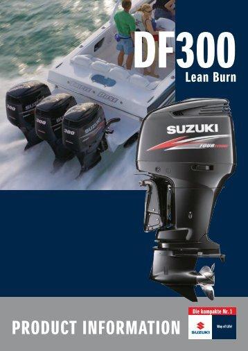 PRODUCT INFORMATION - Suzuki Marine Schweiz