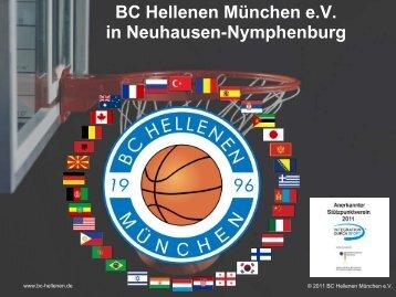 BC Hellenen München e.V. in Neuhausen-Nymphenburg - Blog.de