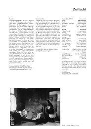 Zuflucht - Filmverleih Deutsche Kinemathek