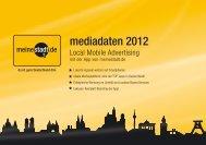 Mediadaten - Mobile Advertising - meinestadt.de - allesklar.com AG ...