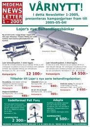 NEWSLETTER 1/2005 - Smelink