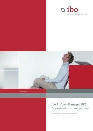 ibo Aufbau-Manager.NET - Ibo Software GmbH