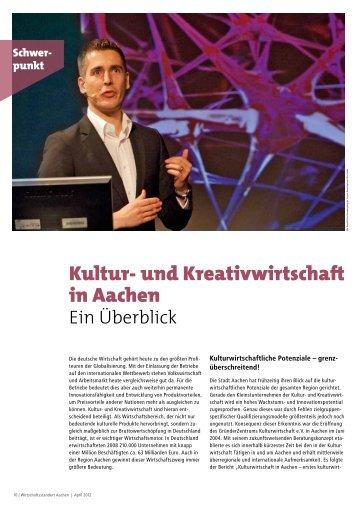 Kultur- und Kreativwirtschaft in Aachen - Carpus+Partner AG