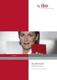 ibo QSR-Kredit Kreditrevision - Ibo Software GmbH