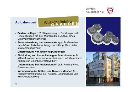 Förderung lokaler Ökonomie - Landeshauptstadt Kiel