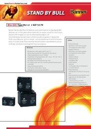 Folder Stand by Bull Giv Bloc D (0.3 - Banner Batterien